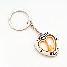 Souvenir Geschenk gedreht Metall Eiffelturm Paris Schlüsselanhänger (F1163)