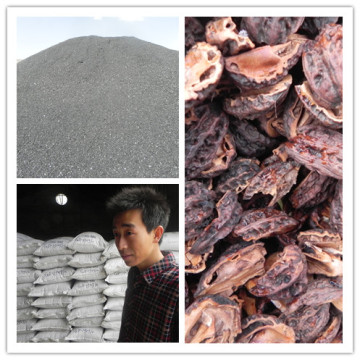 Usine de charbon de bois à faible teneur en cendre de l'Indonésie en coques de noix de coco