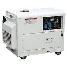 Gerador diesel silencioso de 5KW, gerador diesel portátil (5GF-B01)