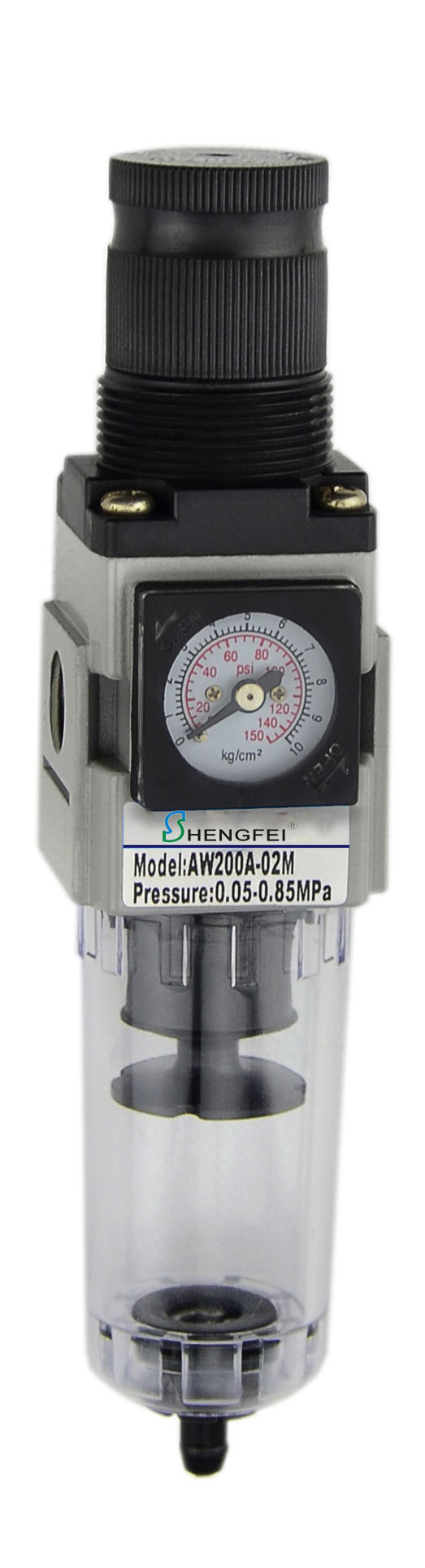"AW2000A-02 G1/4"" 40μm Air Filter Regulator"