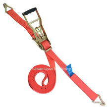 5ton 9m Straps, Ergo Cargo Strap W/Double J Hook