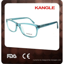 2017 Crystal blue color Unisex Acetate optical glasses