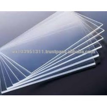 Transparent for led light through Solid Polystyrene sheet for advertising banner