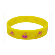 Customized Embossed Printed Silicon Wristband For Events