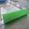 Hoja de goma antiestática hoja de goma ESD verde y negro