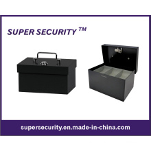 Metall Bargeld / Spardose / Münzen Tray Security Safe Box (STB0406)