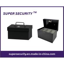 Caja fuerte de la caja de dinero en efectivo metálico / caja de dinero / monedas (STB0406)