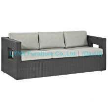Patio Sofa 3 Seater Waterproof Rattan Sofa