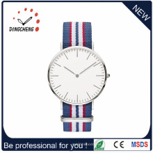 Reloj de acero inoxidable del reloj de cuarzo del nuevo reloj de Vogue 2016 para el reloj de los hombres (DC-1056)