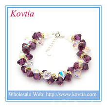 Jóias exibir garnet bead pulseira jóias pulseira bracelete pulseira