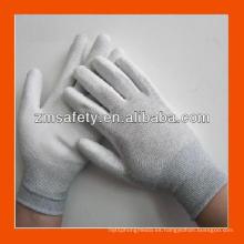 Buen precio PU guantes sumergidos en la palma