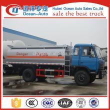 Dongfeng 13000ml capacity fuel tank truck para la venta