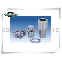 Hochwertige Spezial-Radschlossschlüssel und -hülsen Radnetzschlösser