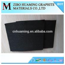 tapis de couverture de feutre de graphite de carbone rigide et flexible