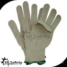 knitted cotton work man glove
