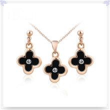 Accessoires de mode Ensemble de bijoux en alliage de bijoux en cristal (AJS154)