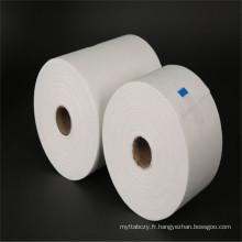 Tissus collés personnalisés au point de polyester