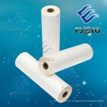 Película de rollo térmico BOPP para laminado en caliente con adhesivo de EVA (FSEKO-1509M)