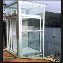 Pasajero panorámico de elevación del elevador panorámico de cristal estable