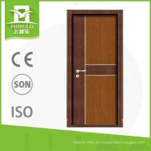 2018 Phipulo marca MDF panel de melamina puerta de madera para la venta