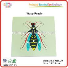 Montessori Animal - Wasp Puzzle
