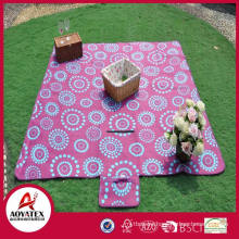 Large size family use polar fleece outdoor activity picnic blanket