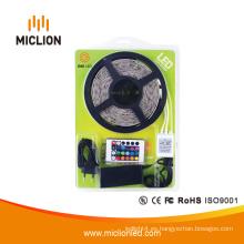 Tira de iluminación LED RGB de color tipo 5050 de 5 m con CE