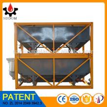 Produto de patente 40m3 planta de mistura de concreto empilhável Silo de Cimento Horizontal