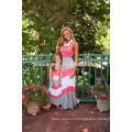 wholesale Mommy And Me dress, fashion and gorgeous boutique dress sleeveless mother and child clothes