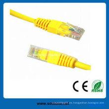 UTP Cat5e Pass Fluke probado cable de parche
