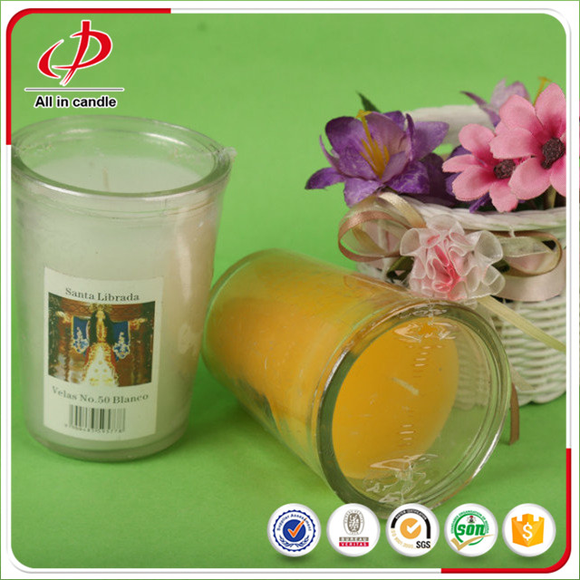 Wedding Favor Glass Jar Candles