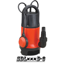(SDL400D-3) Plastic Submersible Dirty Water Pump with Float Switch
