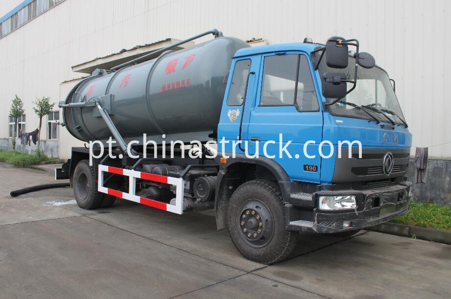 10,000 liters sludge suction truck