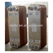 Échangeur à plaques brasées, petite et grande efficacité, fabrication d'échangeur de chaleur