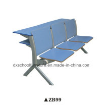 Wooden School Furniture Student Desk and Chair for Classroom
