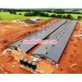 Steel Construction in Poultry House with Free Design and Efficient Installation