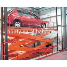Ascenseur hydraulique de voiture de ciseaux de la CE / ascenseur hydraulique de voiture de garage