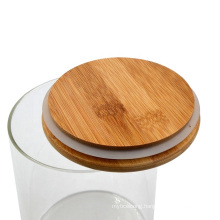 Wide Mouth Round Borosilicate Airtight Kitchen Pasta Glass Jar