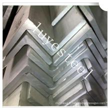 Barre d'angle en acier inoxydable 316 en acier inoxydable