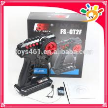 FlySky FS-GT2F Steuerpult-Gewehr-Übermittler 2.4Ghz 2CH für RC Autos mit Wasser-Beweis-Empfänger