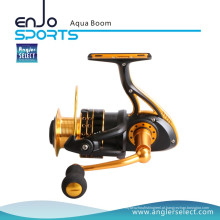 Angler Selecione Aqua Boom Toda água (Fresh & Salt) Lightweight Spinning Reel Big Game Fishing Tackle (Aqua Boom 500)