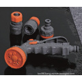 ABS Garden Hose Fitting Set with Hose Connector, Adaptor, Spray Gun