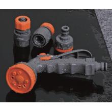 Encaixe de mangueira de jardim ABS definido com mangueira conector, adaptador, injetor de pulverizador
