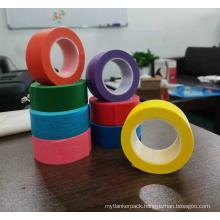 Color Tape Cinta Duct Hair Washi Custom Fragile Flex PTFE Paper Teflon Eyelids Hair Extension in