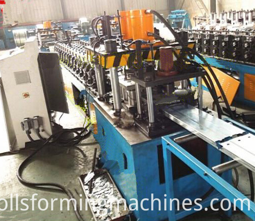 Fire And Smoke Valve Roll Forming Machine