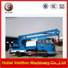 12m Aerial Lifting Platform Working Truck with 3000L Water Tank