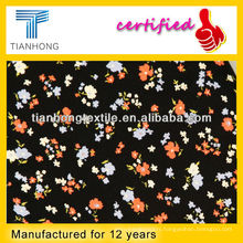Cotton Spandex Printed Fabric