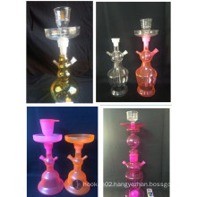 Wholesale Factory Tobacco LED Glass Shisha Hookah
