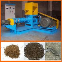 Alimentación de pescado flotante de alta calidad que hace la máquina, extrusora de prensa de pellets de alimentación de peces