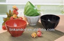 KC-04013solid artware/ice cream bowls,rice bowl ceramic